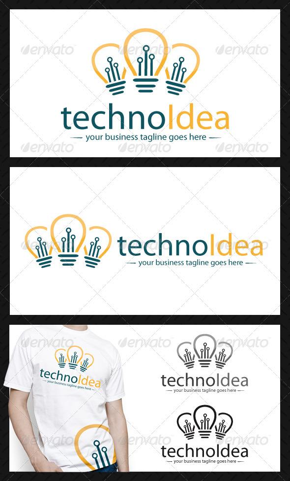 GraphicRiver Idea Tech Logo Template 3992585
