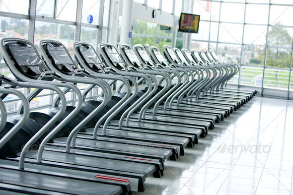 Gym facilities - Stock Photo - Images