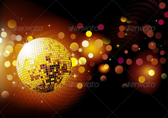 GraphicRiver Abstract Party Background 3993089