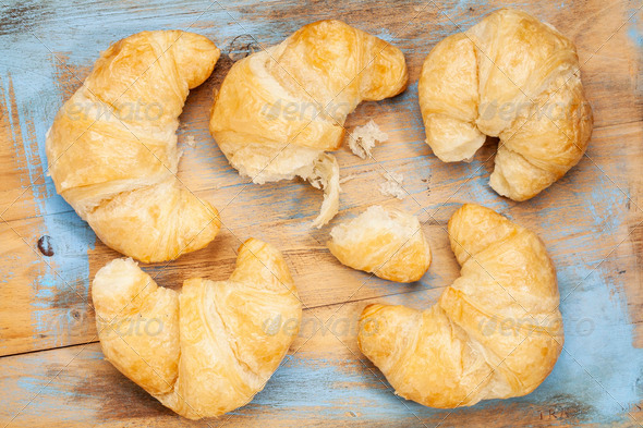 croissant bakery - Stock Photo - Images