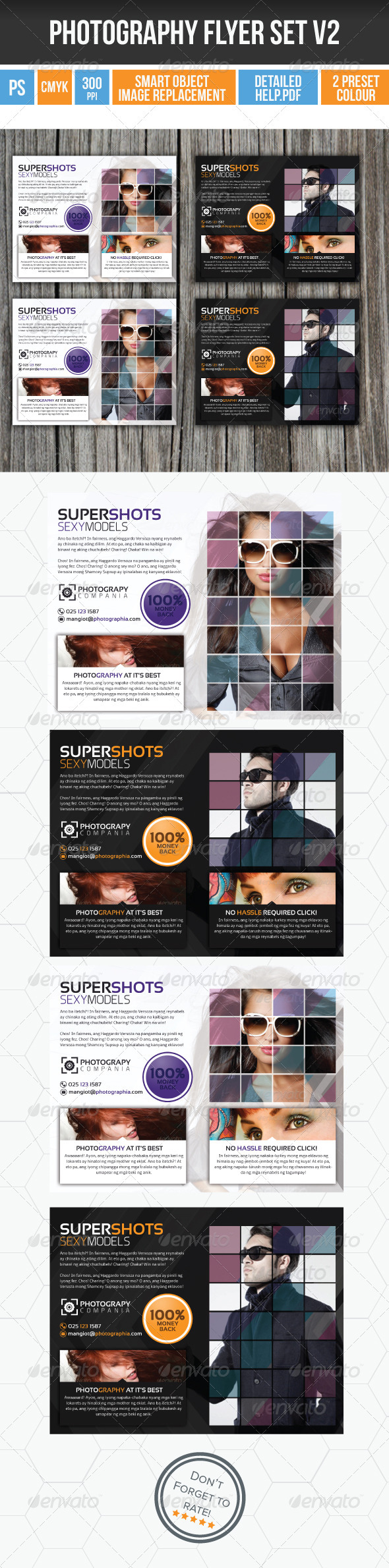 GraphicRiver Minimalist Photography Flyer v2 3993164