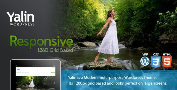 ThemeForest Yalin Responsive Modern Business Theme 3984187