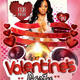Wrap Her With Love Valentines Party flyer - GraphicRiver Item for Sale