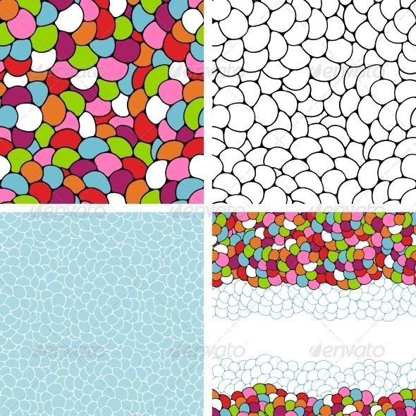 GraphicRiver Seamless Abstract Hand-Drawn Pattern 3993650
