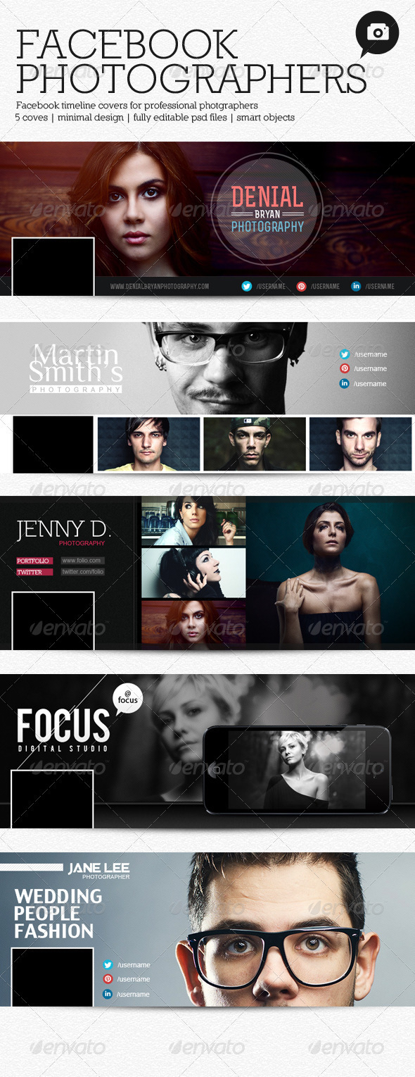 GraphicRiver Facebook Photographers Timeline Cover 3994619