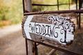 Vintage Wedding Sign - PhotoDune Item for Sale