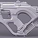 Futuristic Rifle - 3DOcean Item for Sale