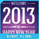 New Year Event Flyer  - GraphicRiver Item for Sale