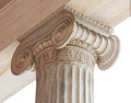 Capital of Greek neoclassical ionic column - PhotoDune Item for Sale