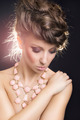 Sensual woman with modern necklace and hair style - PhotoDune Item for Sale