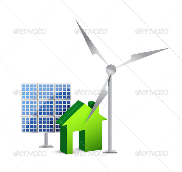 PhotoDune house energy saving concept 3997450