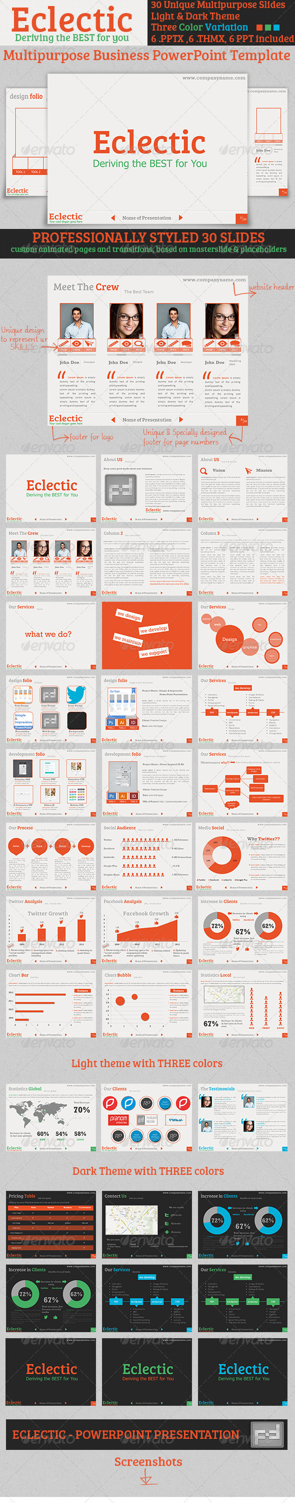 GraphicRiver Eclectic PowerPoint Presentation Template 3862501