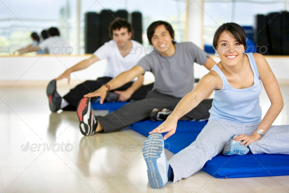 Stock Photo - PhotoDune gym stretches 432026