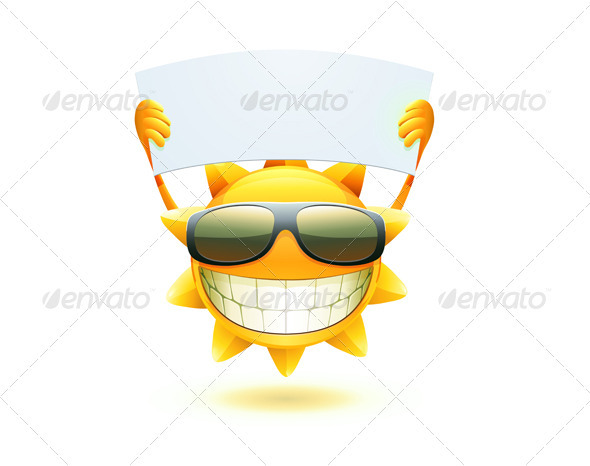 GraphicRiver happy summer sun 3998605