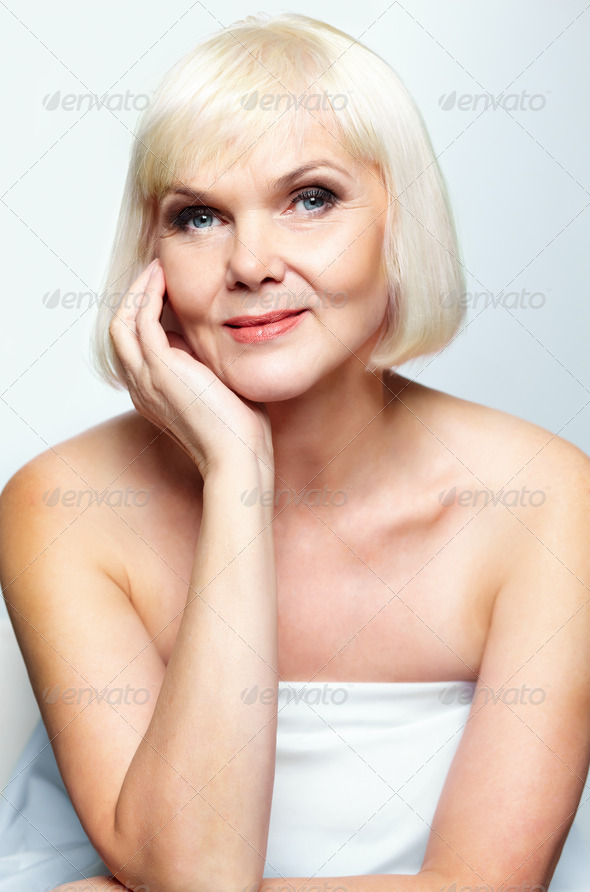 Mature beauty - Stock Photo - Images