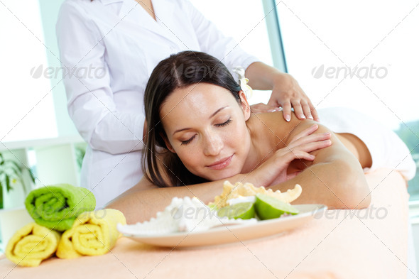 Release from tension - Stock Photo - Images