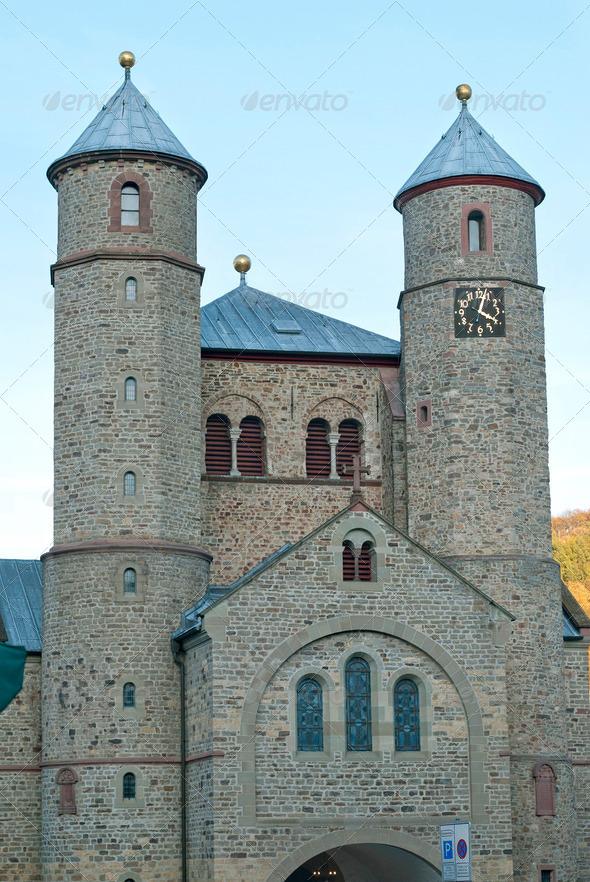 Church in Bad Muenstereifel - Stock Photo - Images