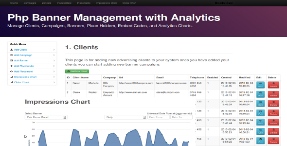 CodeCanyon Php Banner Manager with Analytics 3971555