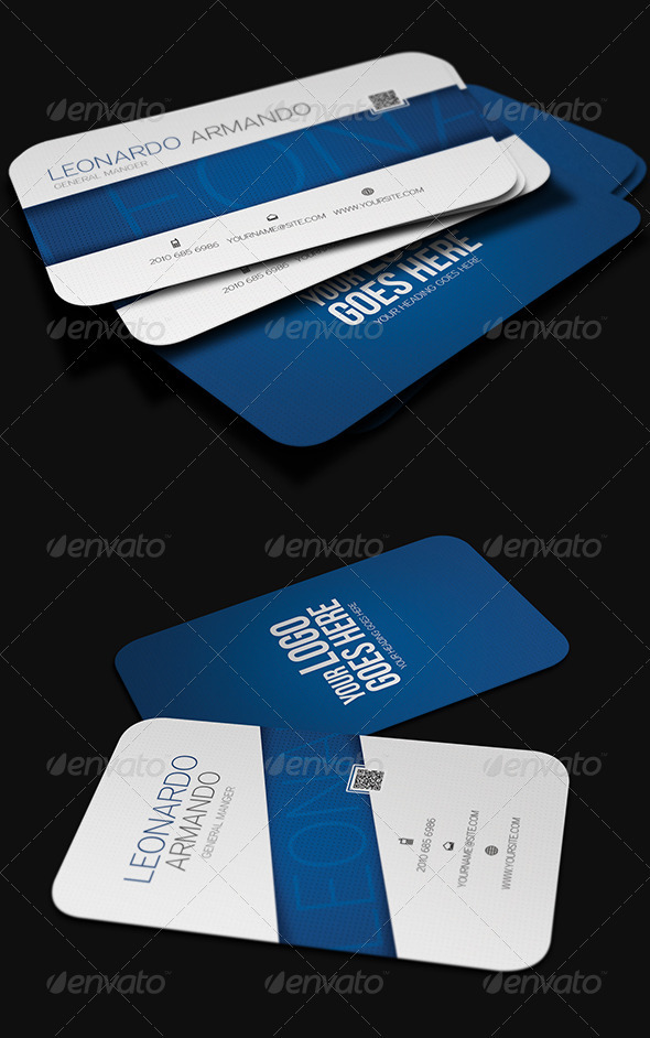 GraphicRiver Modern Business Card 3999604