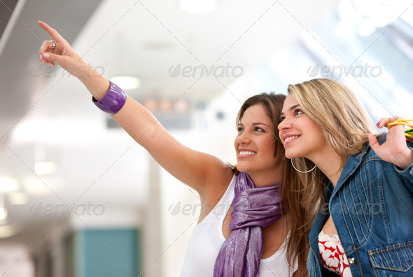 Shopping women - Stock Photo - Images