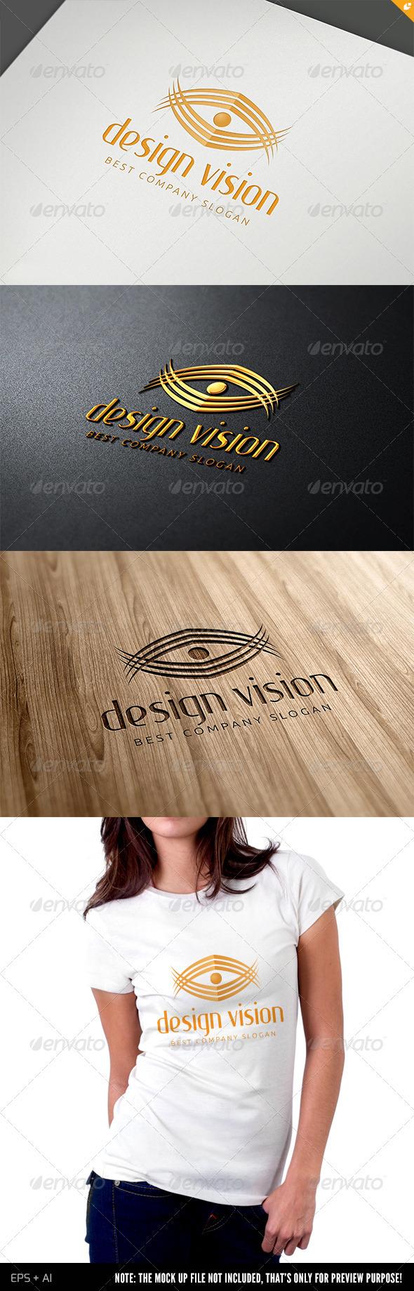 GraphicRiver Media Design Vision Logo 4000618