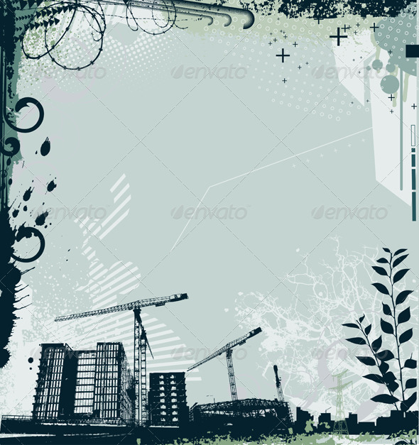 GraphicRiver Urban Grunge Frame 4000636
