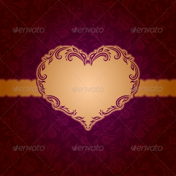 GraphicRiver Template Frame Design for Greeting Card 4000947