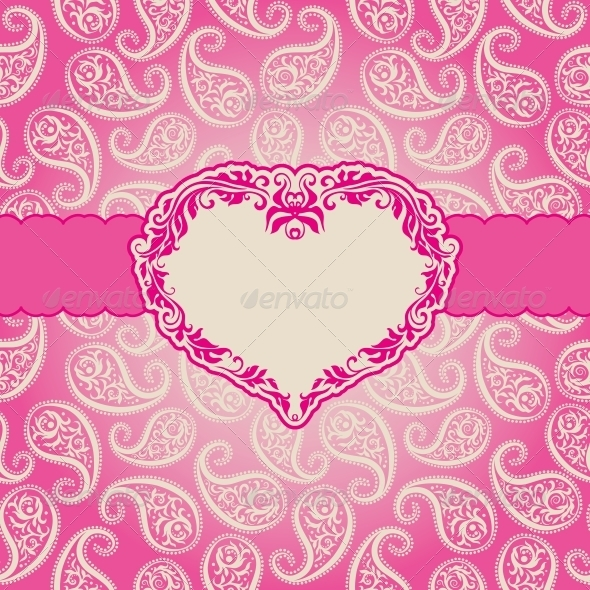 GraphicRiver Template Frame Design for Greeting Card 4001036