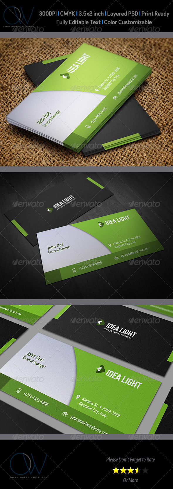 Corporate Business Card Vol.18 - Corporate Business Cards