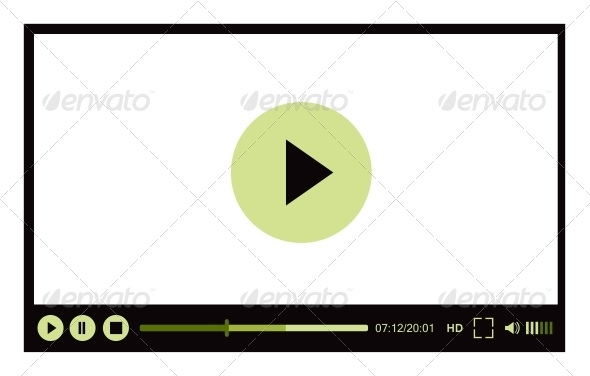 GraphicRiver Video Player for Web 4001477
