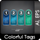 Colorful Tags - GraphicRiver Item for Sale
