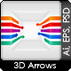 Perspective Arrows - GraphicRiver Item for Sale