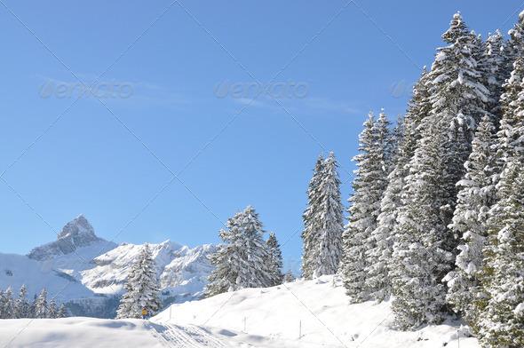 PhotoDune Braunwald famous Swiss skiing resort 4001871