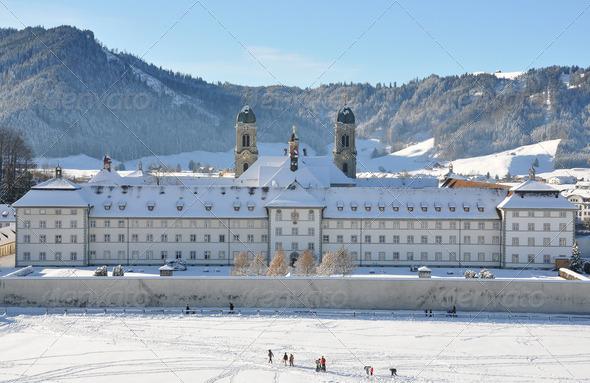 PhotoDune Benedictine Abbey of Einsiedeln Switzerland 4001880