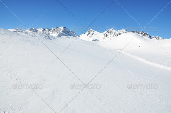 PhotoDune Pizol famous Swiss skiing resort 4001900