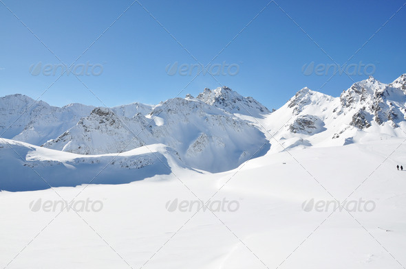 PhotoDune Pizol famous Swiss skiing resort 4001905