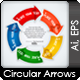 Rounded Next Step Arrows - GraphicRiver Item for Sale