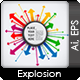 Explosion Arrows With Speech Bubble - GraphicRiver Item for Sale