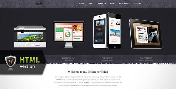 PixelWhiz - Portfolio HTML Theme