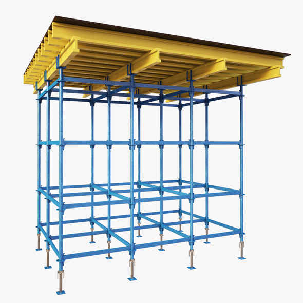 Falsework for Building - 3DOcean Item for Sale