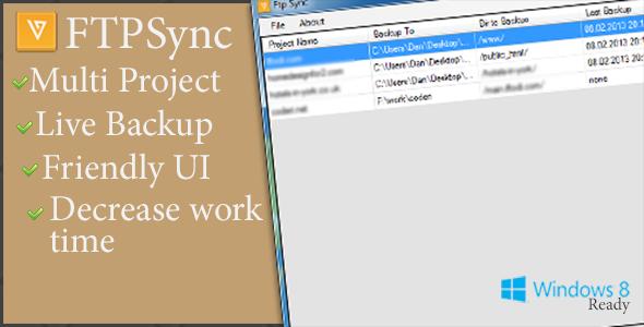 CodeCanyon FTPSync & Backup 4003422