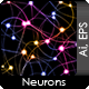 Digital Illustration of Neurons - GraphicRiver Item for Sale