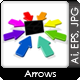 Arrows To The Center Point - GraphicRiver Item for Sale