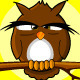 Standing Owl Not Found Animated Page
