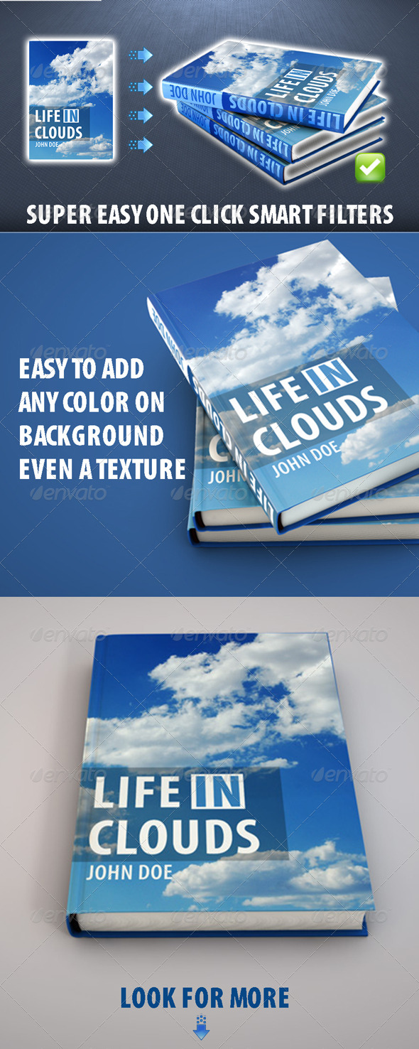 GraphicRiver Hi-Res Book Cover Mockup 3896298