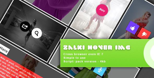CodeCanyon Zalki Hover Image Plugin jQuery 3987074
