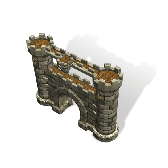 Door Castle - 3DOcean Item for Sale
