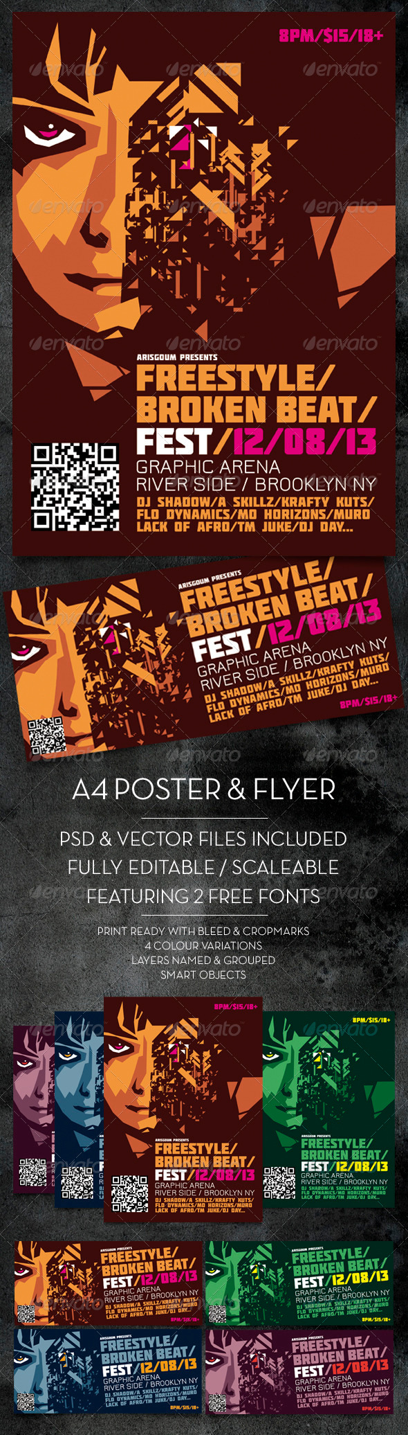 GraphicRiver Freestyle Poster & Flyer 3908672