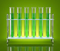 Tubes with green chemicals - PhotoDune Item for Sale