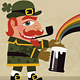 Ireland: Leprechaun, Rainbow, Pot of Gold - GraphicRiver Item for Sale